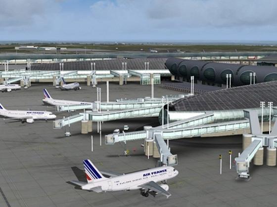 エアロソフト メガエアポート パリ シャルル・ド・ゴール X